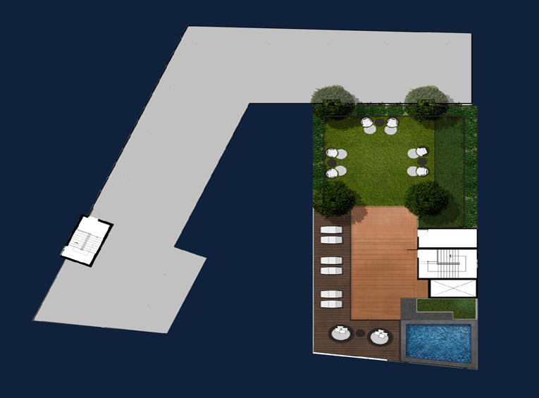 Rooftop Floor Plan