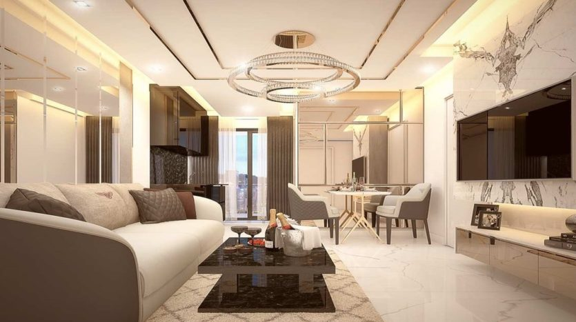 Grand Solaire living room