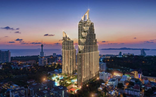Grand Solaire Pattaya's tallest condo