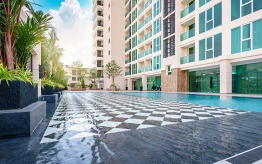 35m² 1 Bed City Garden Tower Pattaya